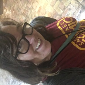 Repping my house Gryffindor and Salt Lake Comic Con