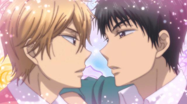 Kiss him, not me review yaoi