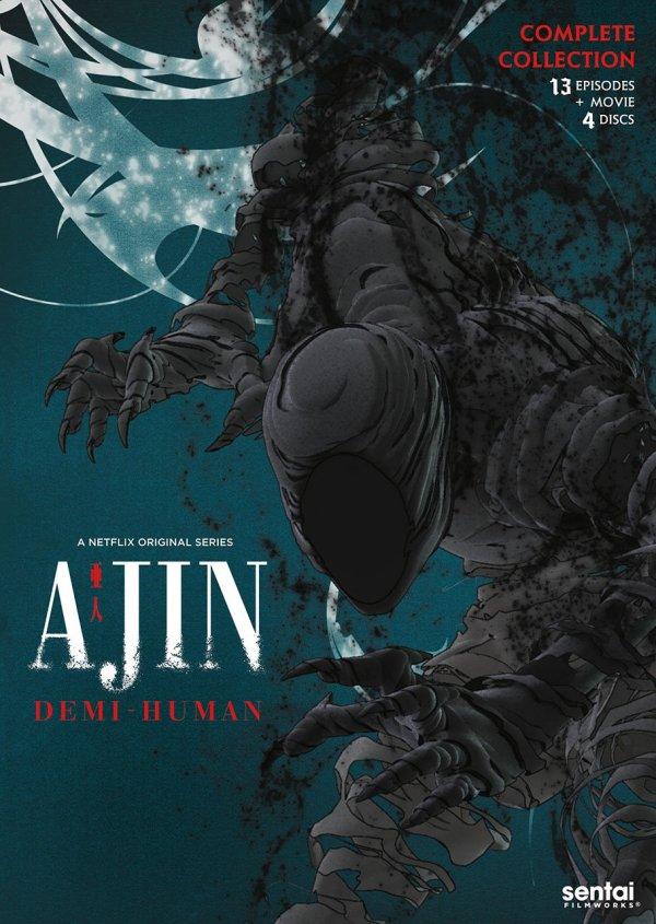 Ajin Season 1 DVD Front Cover
