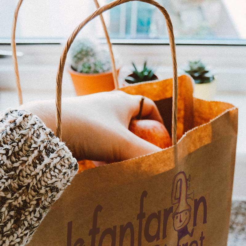 a casa tua, l'asporto del ristorante Le Fanfaron, a Torino nel Quadrilatero