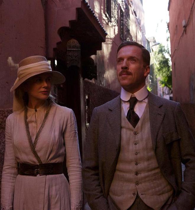 Damian Lewis Nicole Kidman Werner Herzog Queen of the Desert