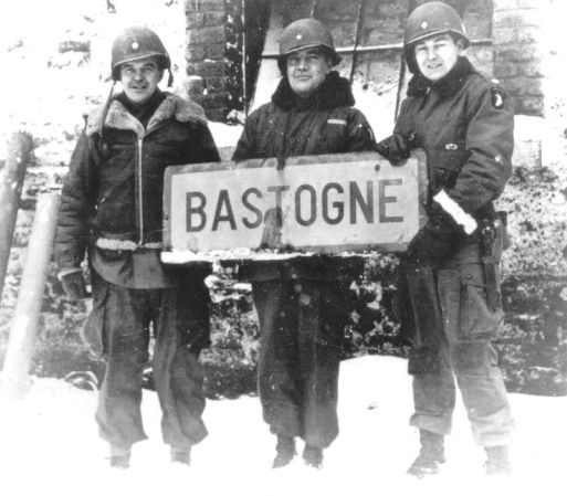 battle of the bulge, bastogne, band of brothers