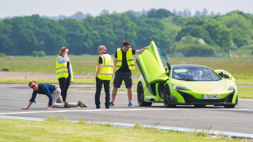 Damian Lewis, Top Gear, McLaren