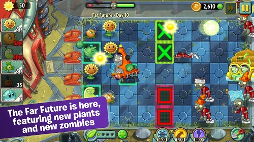 4 mundo futuro plants vs zombies 2