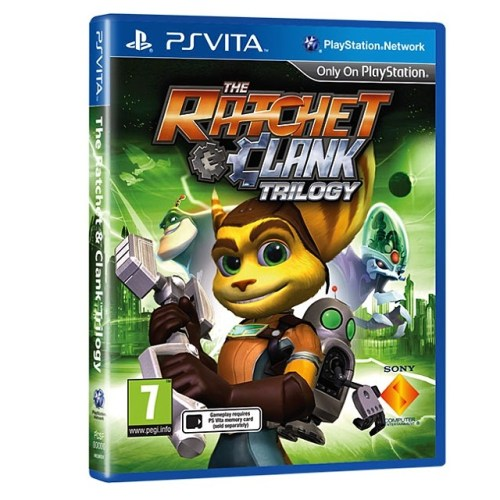 Llega The Rachet And Clank HD Triology para #PSVita