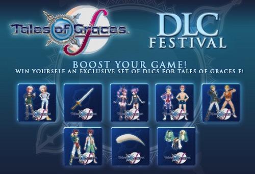 DLC FESTIVAL TALES OF GRACES Inicio del concurso Festival de DLC de Tales of Graces f