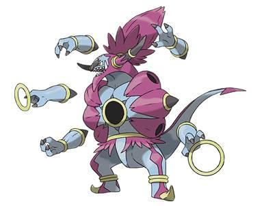 Hoopa desatado pokémon Desvelado el espectacular Pokémon: Hoopa Desatado