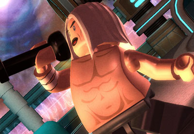 Iggy Pop Lego Rock Band Nintendo Wii