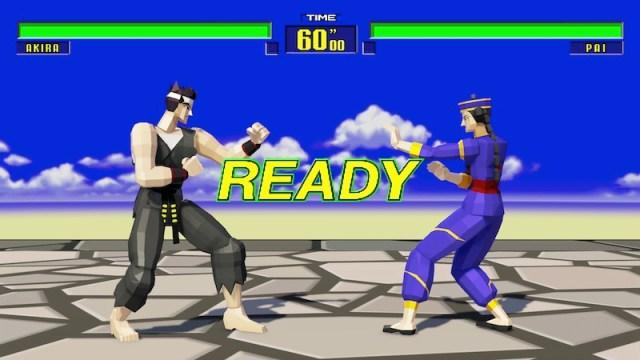 Legendary Pack DLC Virtua Fighter V