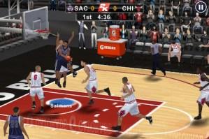 NBA 2K12 iPhone 5