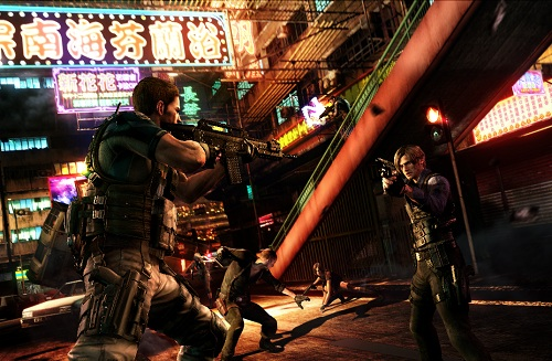 Resident Evil 6 Supervivientes Tres nuevos modos online para Resident Evil 6 de Xbox 360