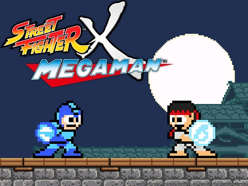 STREET FIGHTER X MEGAMAN Capcom anuncia un crossover al estilo de los 80: Street Fighter X Megaman