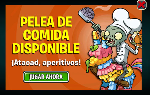 THANKSGIVING ZOMBIE En Plants VS Zombies 2 también se celebra el Día de Acción de Gracias