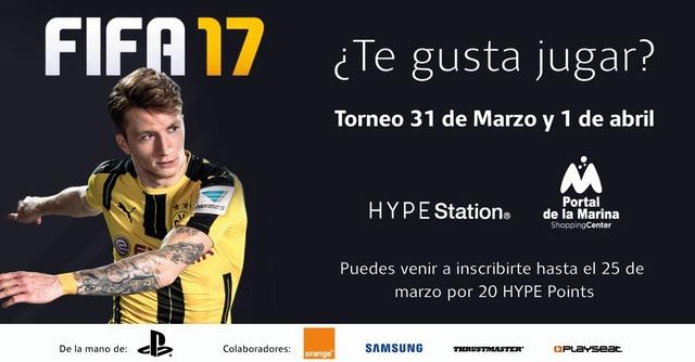 Torneo FIFA 17 El Torneo Fifa17 llega al Portal de la Marina de Valencia