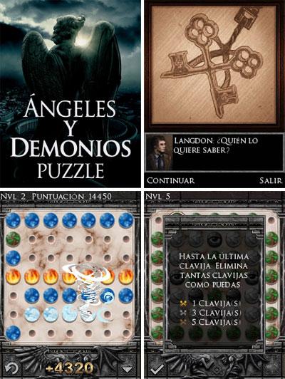 videojuego ángeles y demonios para móviles
