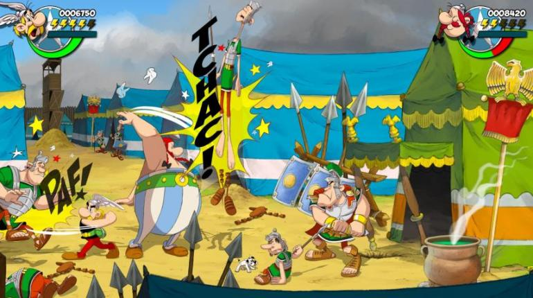 asterix & obelix slap them all