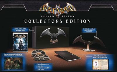 Batman Arkham Asylum edición coleccionista