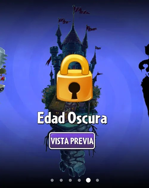 edad oscura plants vs zombies