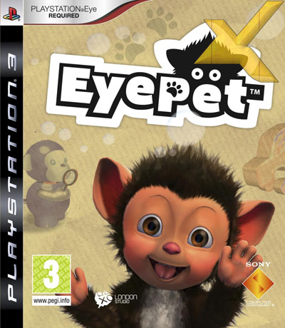 eye pet sony playstation 3