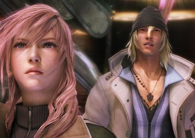 final fantasy XIII detalles del juego
