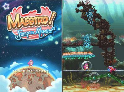 Maestro jump in music nintendo ds