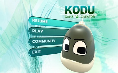 kodu-start-screen