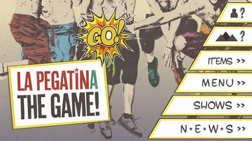 la pegatina the game El grupo musical La Pegatina estrenan su propio videojuego