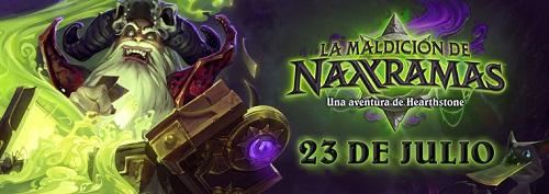 maldición Hearthstone recibirá el pack La Maldición de Naxxramas el próximo 23 de julio