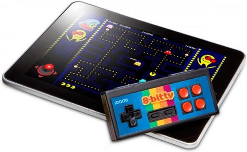 mando retro ipad iphone android e1333537847978 iCade 8-Bitty: mando retro para iPad, iPhone y Android