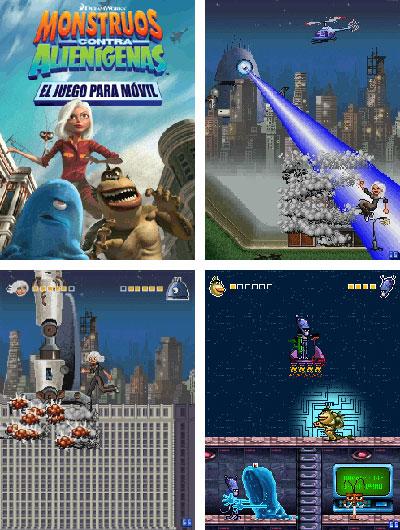 monstruos contra alienígenas para móviles