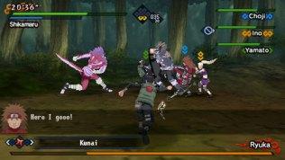 naruto kizuna drive psp screenshot 2