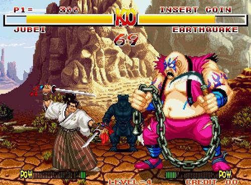 samurai shodown neo geo