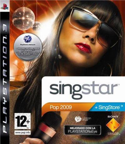 Singstar Pop 2009 Ps2 y Ps3