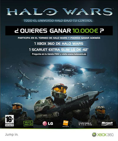 Torneo oficial Halo Wars