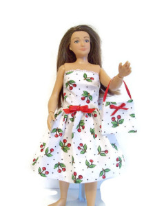 Lammily Cherry Dress