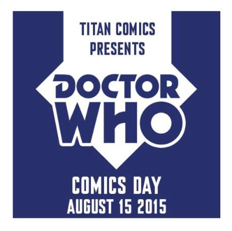 Titan Comics Doctor Who Comics Day