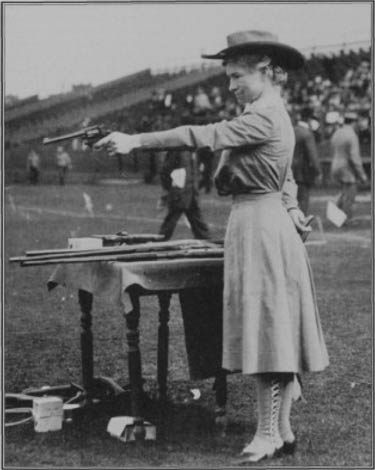 Annie Oakley at 65