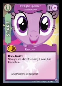 Mane Character Card Start