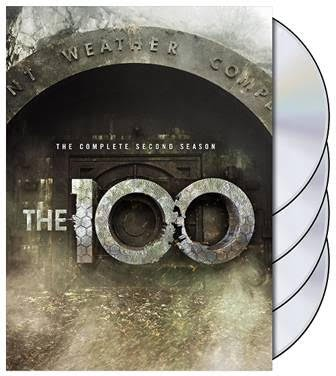 The 100 second season DVD front