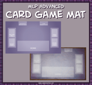 MLP Card Game Mat