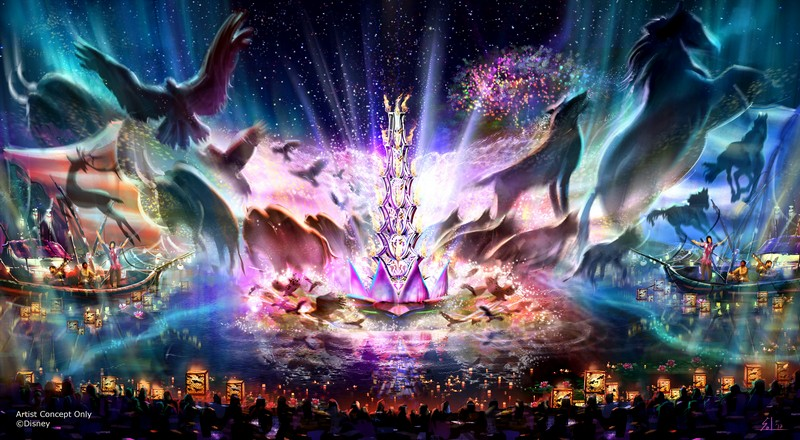 ÒRivers of LightÓ at DisneyÕs Animal Kingdom Ð Expected to open next spring, ÒRivers of LightÓ will be an innovative experience unlike anything ever seen in a Disney park, combining live music, floating lanterns, water screens and swirling animal imagery. ÒRivers of LightÓ will magically come to life on the natural stage of Discovery River, delighting guests and truly capping off a full day of adventures at DisneyÕs Animal Kingdom. (Disney Parks)