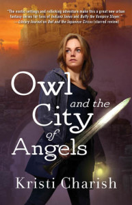 Cover for Owl and the City of Angels