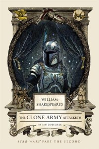 Boba Fett on the cover of The Clone Army Attacketh