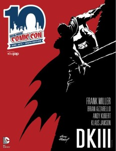 Dark Knight NYCC 2015 Program Guide Cover