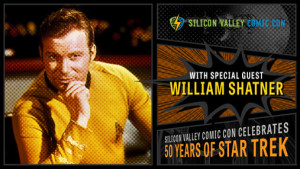 Shatner at Silicon Valley Comic Con