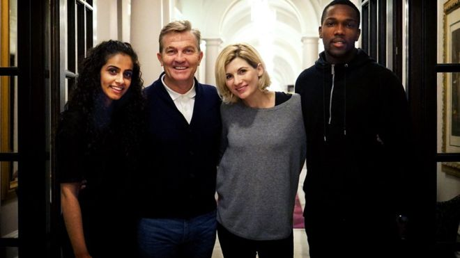Bradley Walsh joins cast of Doctor Who