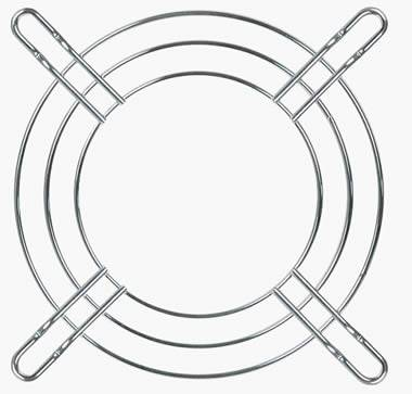 Special Shape Safety Metal Wire Fan Finger Guard Grill for