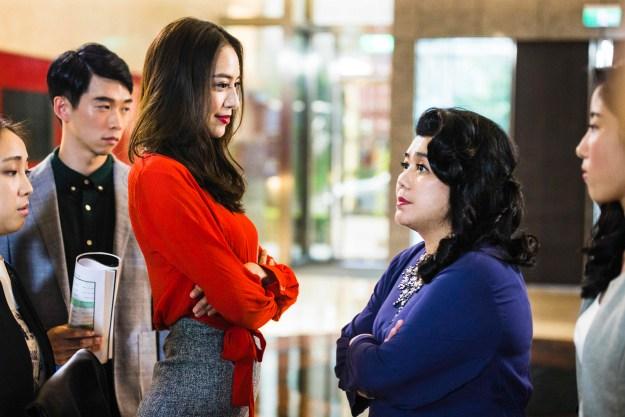 華聯國際提供01白歆惠與林美秀合體PK,職場溫拿與魯蛇的精采交鋒