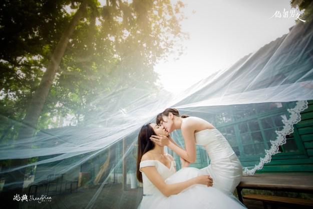 《偽婚男女》武柔、楊朵唯美婚紗