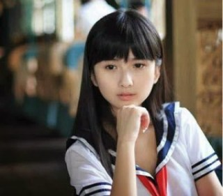 Beautiful and cute asian girl April Xia Da